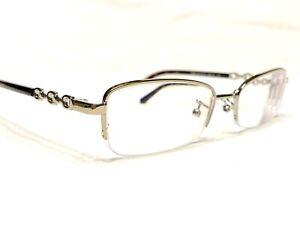 Coach HC5097 9005 Women's Gold & Tortoise Half Rim Rx Eyeglasses Frames 52/18