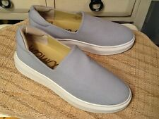 7d74e10d8 Sam Edelman Women s Nerah Fashion Sneaker light Gray slip on shoes 9.5 M  -EUC