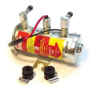 Bendix style FUEL PUMP 12V with spring loaded valve - Porsche, Ferrari