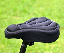 Bike Seat Cover Soft Gel Foam Pad Bicycle Saddle Padded Breathable Non-Slip