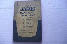 JAMES MOTORCYCLES SPARE PARTS CATALOGUE 1959 MODELS