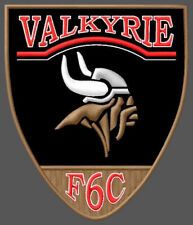 "HONDA VALKYRIE F6C EMBROIDERED PATCH ~4-1/2""x 3-3/4"" BRODÉ MUOKKAA BRODERAD BIKE"