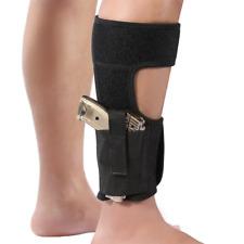 Ankle Gun Holster Concealed Carry Pistol Guns Elastic Leg Diversion Safe Holster