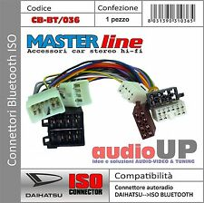 CONNETTORE ISO INTERFACCIA BLUETOOTH PER DAIHATSU TERIOS. SISTEMA BLUETOOTH