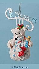 CHERISHED TEDDIES~SNOW SNOWBEAR ORNAMENT~CHRISTMAS~4023749~BUY MORE & SAVE