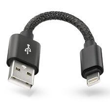 Lightning Stecker 12cm Ladekabel Kabel für Apple iPhone X 8 7 6 S Plus SE 5