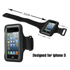 Armband Pouch Carrier Case Exercise Workout Running Sports Gym For iPhone 5 5s