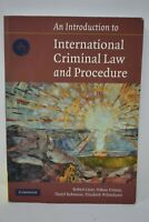 An Introduction to International Criminal Law and Procedure by Darryl Robinson..