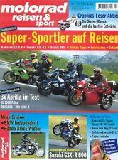 MRS0007 + APRILIA Falco + RSV Mille + Mille R + motorrad reisen & sport 7/2000