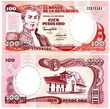 Colombie Colombia Billet 100 PESO 1991 P426 NARINO  NEUF UNC