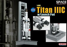 DRAGON 56228 TITAN IIIC ROCKET AND LAUNCH PAD die cast model 1:400th scale