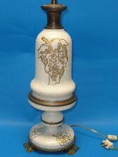 """Antique Elaborate Bourdois & Achille Bloch Paris Porcelain Table Lamp ~ 29"""" H"""