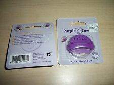 Purple Cows Click Blades Perferated  Rotary Trimmers  New  click blade  2 pkgs
