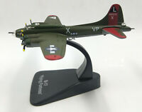 1:144 WWII USAF B-17 Flying Fortress Bomber Aircraft Display Green Metal Model