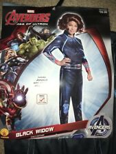Avengers Black Widow Child (Small 4-6) Girls Halloween Costume Rubies 610443