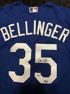 Cody Bellinger Signed Dodgers Majestic Jersey AUTO MLB FANATICS HOLOGRAM, COA