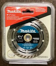 "NEW GENUINE Makita A-94552 4.5"" Turbo Rim Diamond Masonry Blade FACTORY SEALED"