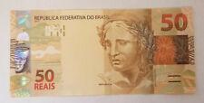 BRAZIL 50 REAIS Brasil 50 Real Banknote UNC