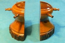 Pair of Ship's Capstan Bookends
