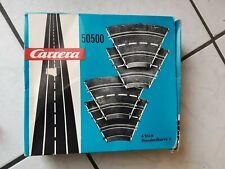 Carrera  -60-70 er Jahre - im org. Karton -Schienenpackung 50500  (inhalt 4 x )