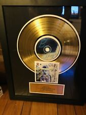 Red Hot Chili Peppers Lp & Cd Gold Record Framed