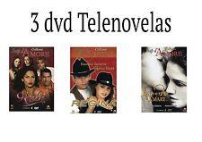 Offerta 3 DVD Telenovelas Rubi, Regina e Libera di Amare Soap d' Amore