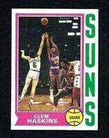 NMT 1974 Topps Basketball #62 Clem Haskins.