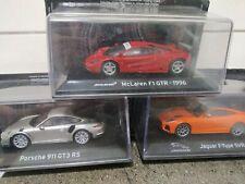 Porsche/Jaguar/McLaren 1:43 Lote Supercars Salvat