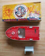 Vintage Lancraft Toy Boat CIB