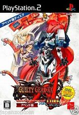Used PS2 Guilty Gear XX Accent Core Plus SONY PLAYSTATION 2 JAPAN