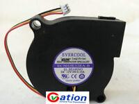 for EVERCOOL EC5015L12EA-B Mute Humidifier fan DC12V 0.10A 5CM 5015 3wire