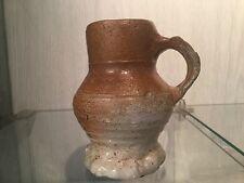 Antique 14th Excavated jug steinzeug bellarmin frechen raeren bellarmine