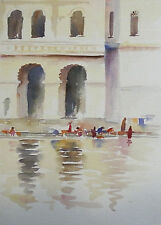 BARRIE BRAY (1940-2015), Cornish artist, Watercolour, Venice X