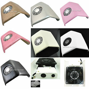 1 x Manicure Pedicure Nail Art Dust Suction Collector Salon Home Use