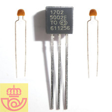 Microchip MCP1702-500 TO-92 Low Quiescent Current 5V LDO Regulator + 2 CC 1µF