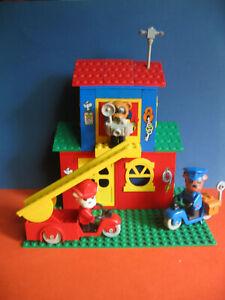 Lego Fabuland Haus 3669 Feuerwehr- und Polizeiwache Headquaters  80er Jahre