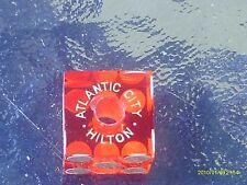 20 vintage atlantic city hilton casino dice