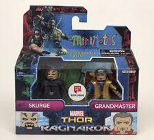 Thor Ragnarok Marvel Minimates Walgreens Exclusive Skurge Grandmaster ~ In Hand