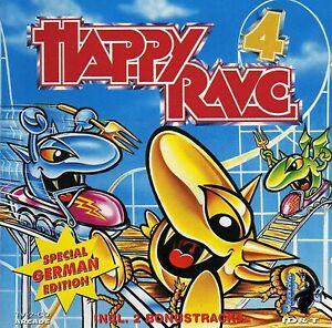 Happy Rave 4 - 2CD - HARDCORE GABBER HARD TRANCE