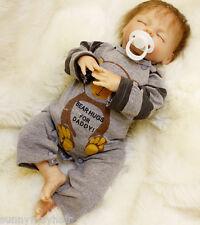 """18"""" Custom Reborn Doll OTARD New Newborn Boy Silicone Baby Handmade Doll"""