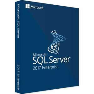Microsoft SQL Server 2017 Enterprise - license - 2 cores - Part # 7JQ-01275