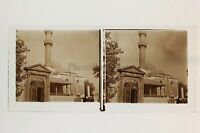 Costantinopoli Turchia Foto Placca Stereo Lente Stereoview Vintage