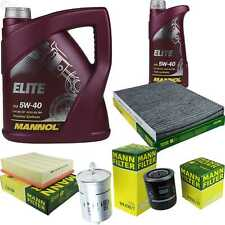 Motor oil 6L MANNOL Elite 5W-40 + Mann Filter Skoda Superb 3U4 2.8