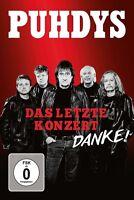 PUHDYS - DAS LETZTE KONZERT   DVD NEU