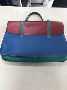 Vintage Music / manuscript leather bag / satchel From Harrods