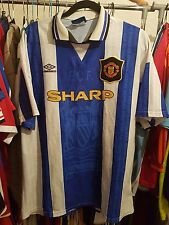 Manchester United Football Shirt XL Cantona 7 1994/96 Third