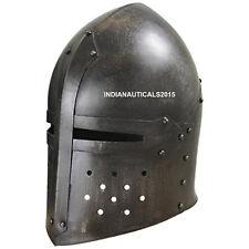 New Barbuta Helmet In Metallic Saxon For Battle And Best Gifting Item