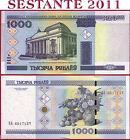 BELARUS / BIELORUSSIA - 1000 RUBLEI 2011 - P 28b - FDS / UNC 1.000