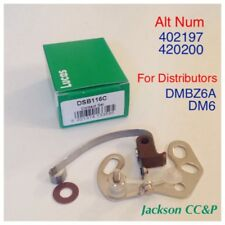 Lucas DSB116C Contact Points 420197 DM6 DMBZ6A JAGUAR ETYPE 61-63 MORRIS, AUSTIN