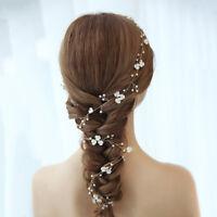 40 Inch Long Hair Vine Wire String Crown Tiara Wedding Banquet Headpieces